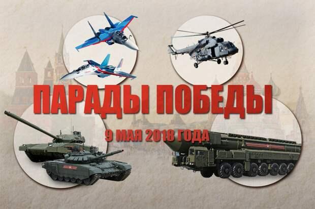 Парад Победы на Красной площади — LIVE