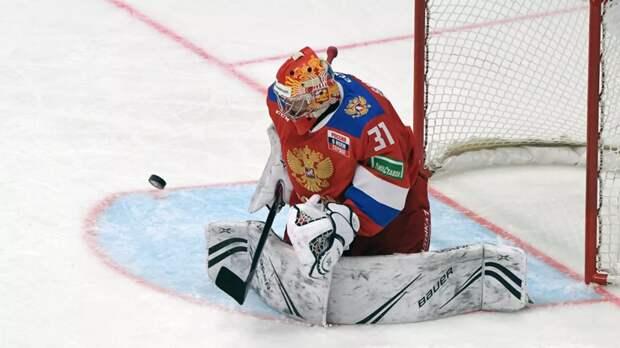 Российские хоккеисты победили команду Белоруссии в контрольном матче