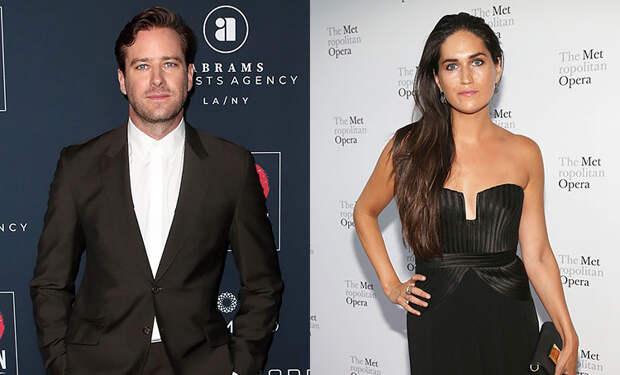Новая неделя - новая девушка: Арми Хаммер поужинал с бывшей супругой актера Джоша Лукаса