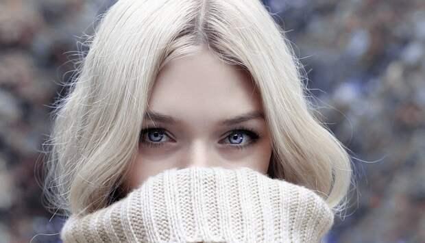 Зима, Женщина, Смотреть, Блондинка, Красивая Женщина