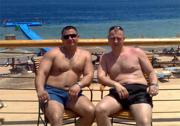 Участники банды Сергей Цеповяз (слева) и Виталий Иванов