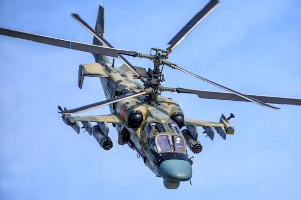 """Эксперт назвал вертолет Ка-52 """"Аллигатор"""" лучшим в России и не имеющим аналогов в мире"""