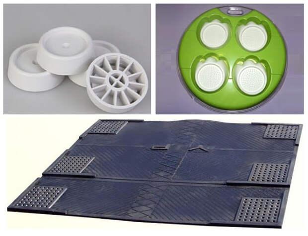 Антивибрационный коврик и подставки под стиральную машину