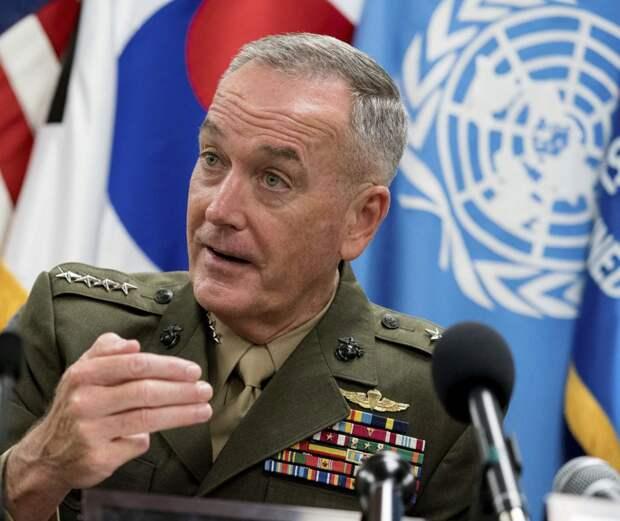 Джозеф Данфорд, Председатель объединенного комитета начальников штабов США. Источник изображения: https://vk.com/denis_siniy