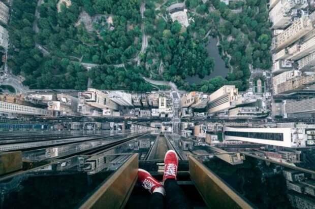 Фото на огромной высоте