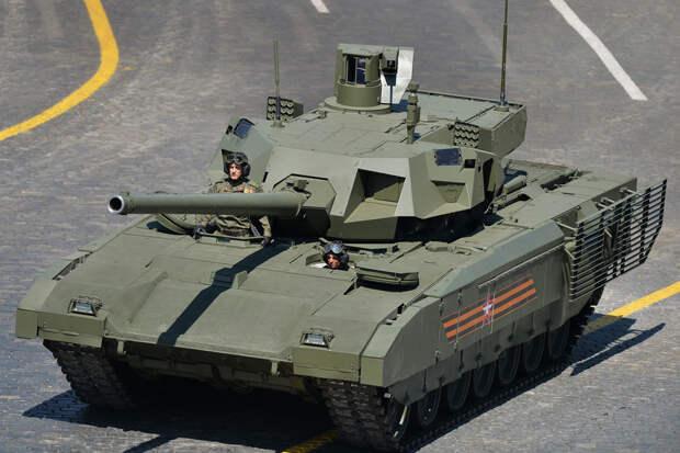 """NI назвал Индию потенциальным покупателем танка Т-14 """"Армата"""""""
