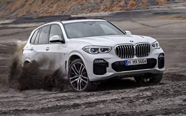 Новый BMW X5: приборная революция!