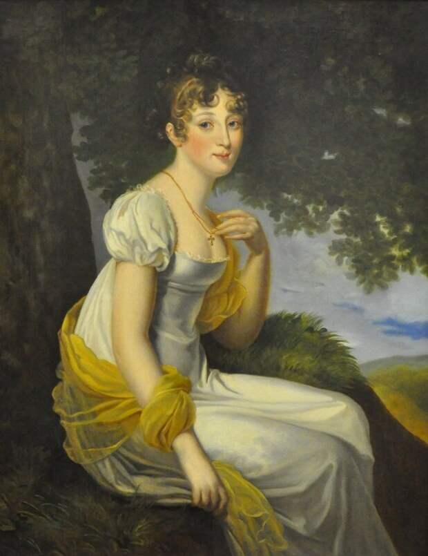 Юная великая княжна Анна Павловна