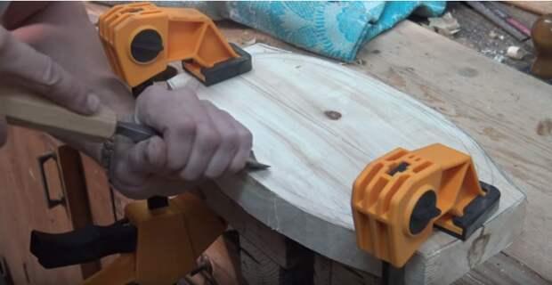 Как сделать деревянную тарелку