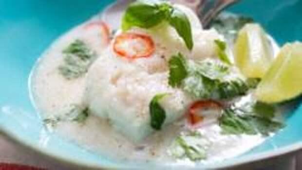 Рыба с Кокосом. Доминиканская кухня