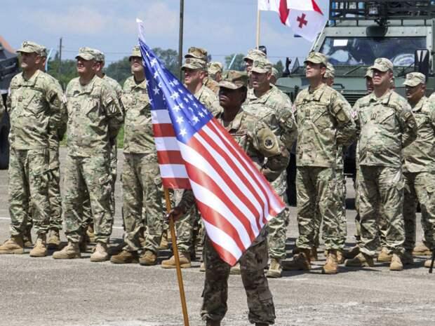 Американские военные в Грузии. Источник изображения: