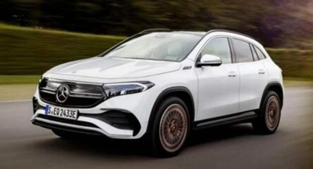 Начался приём заказов на электрокроссовер Mercedes-Benz EQA
