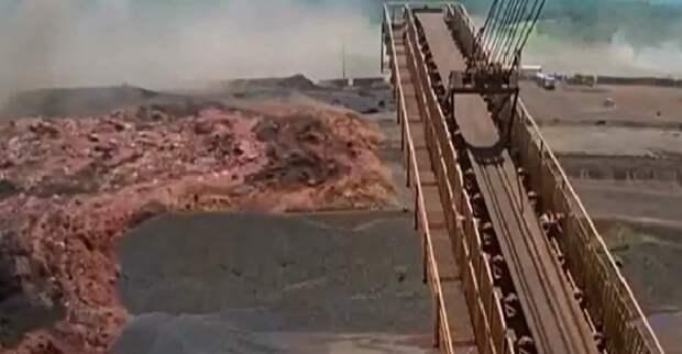 В Сети появилось шокирующее видео прорыва горной плотины в Бразилии