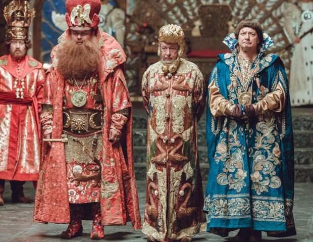 «Конек-горбунок» за кадром: лицо Деревянко обклеивали датчиками, а на Ефремова надели самый дорогой наряд