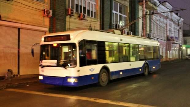 До вечера изменят маршрут троллейбусов №2 и №22 в Ростове из-за аварии