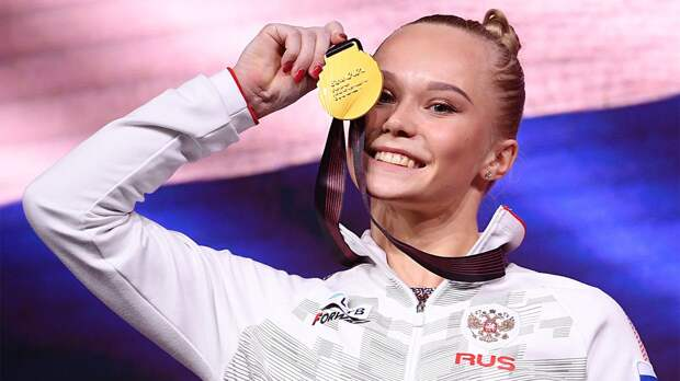 Россия жжет на ЧЕ по гимнастике: красотка Мельникова и Нагорный взяли по титулу. У команды 6 медалей в 5 видах