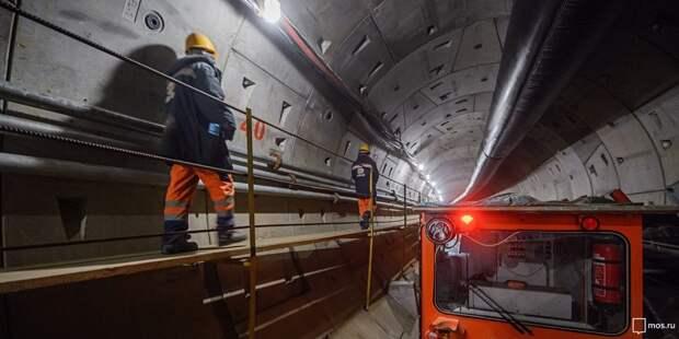 Эксперты проверили качество строительства станции «Марьина Роща»