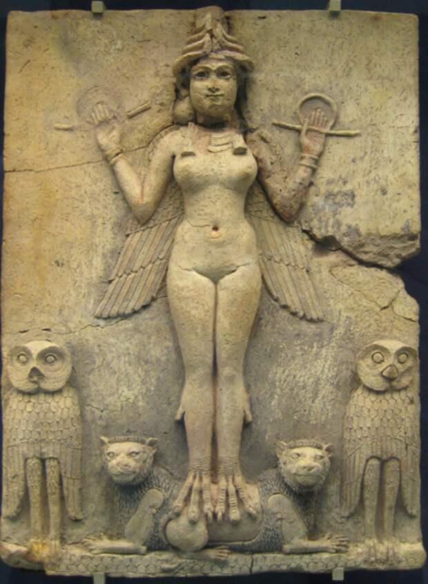 Богиня Иштар «Мои ласки могучие сладостней меда»