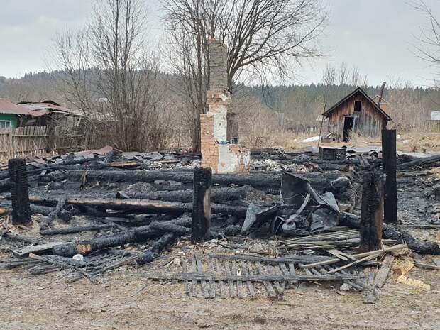 В Пермском крае задержали мать четверых детей, погибших при пожаре