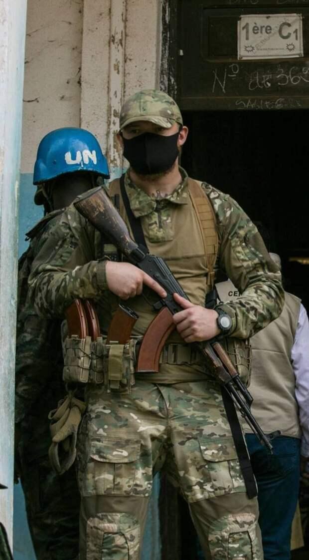 Будни ЧВКшников в ЦАР