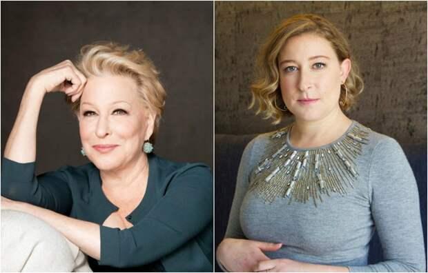 Двукратная номинантка Оскара, певица и актриса Бетт Мидлер и ее единственная дочь Софи.