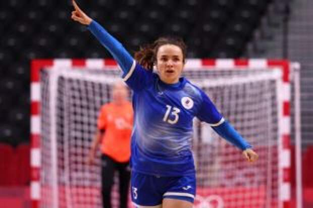 Анна Вяхирева признана лучшим игроком гандбольного турнира на Олимпиаде