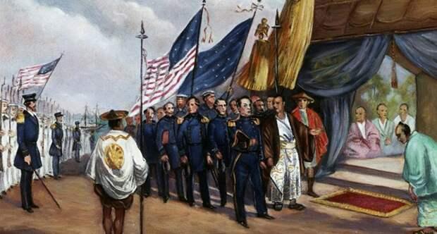 Встреча моряков США