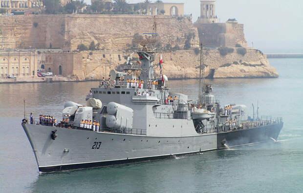 У армии Хафтара в Ливии появился боевой корабль с крылатыми ракетами