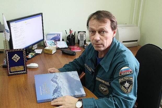 Валерий Коханов. Фото: ГУ МЧС по Красноярскому краю