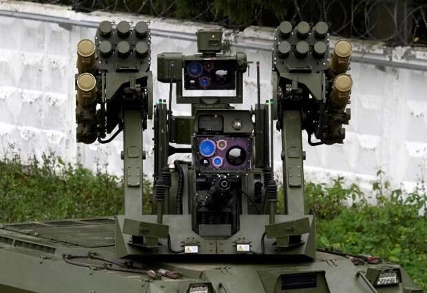 Российские футуристические роботы «Ураны» - изюминка из будущего