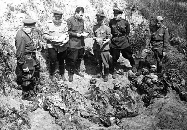 Результаты работы комиссии НКВД-НКГБ в Катыни