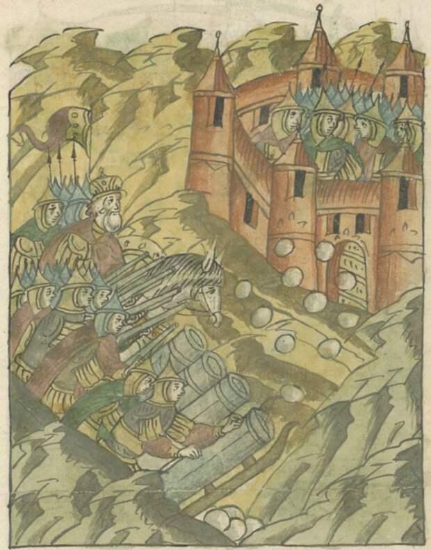 Бомбарды на Руси: большая и особая мощность для царей