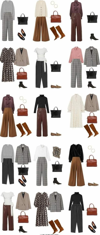 Повседневный капсульный гардероб для девушек Plus Size. Минимум вещей – максимум образов