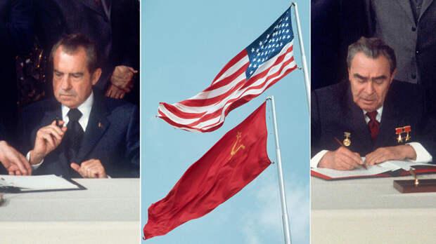Когда над Кремлем развевался флаг США?