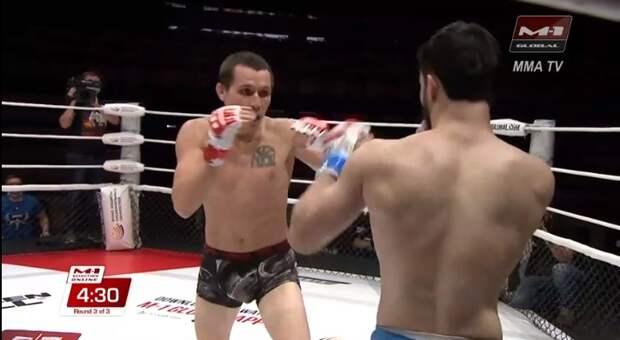 Российский боец стал одним из победителей ММА турнира в поддержку Максима Шугалея