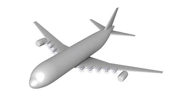 Лайнер A320 признали непригодным для распределенных двигательных установок
