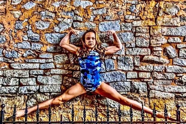 Как выглядит 10-летняя девочка, которая тренируется по30 часов внеделю