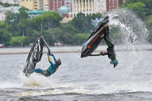 В Воткинске пройдут всероссийские соревнования по водно-моторному спорту на аквабайках