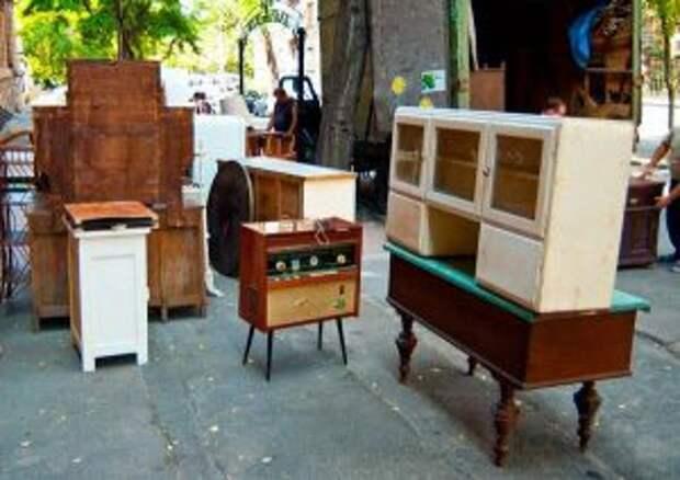 Особенности утилизации старой мебели