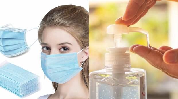Как сделать антисептик для рук и медицинскую маску в домашних условиях?
