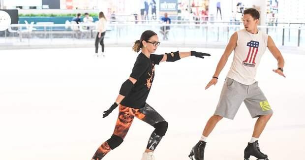 Бузова получила травму на съемках шоу «Ледниковый период»