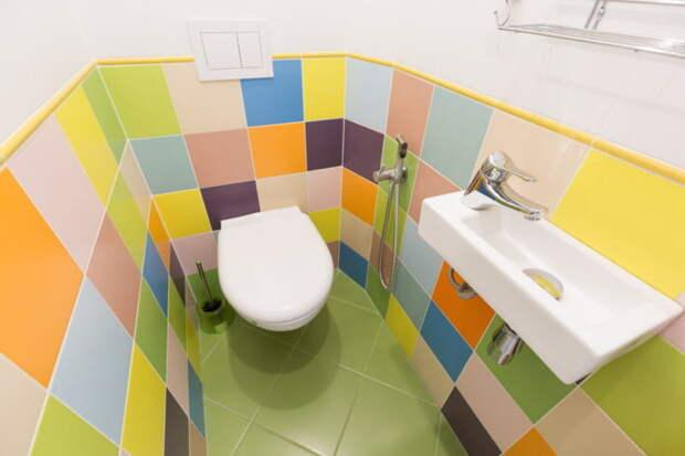 Туалет в хрущевке — большие возможности самой маленькой комнаты в доме