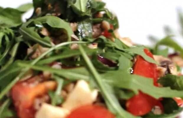 Салат с гречки