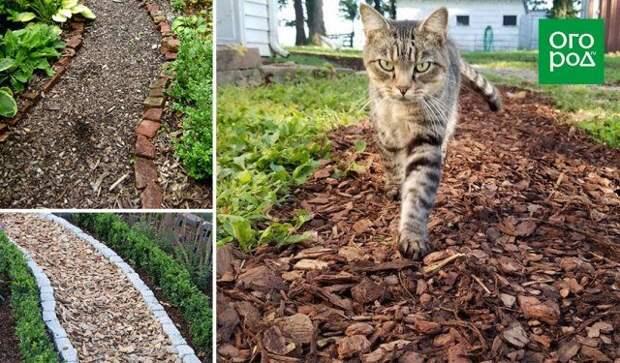 Из чего не стоит делать садовые дорожки