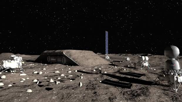 Российская компания предложила проект лунной базы стоимостью 550 млрд рублей