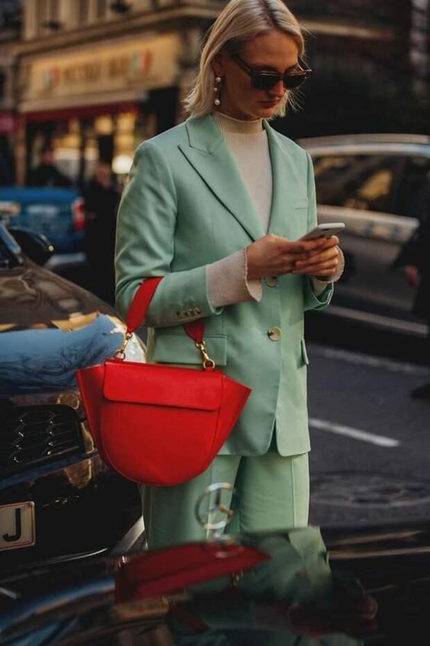 Модный мятный с чем его носить!
