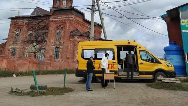 В Татарстане нет голосования в автобусах. Но в Куюках все-таки есть