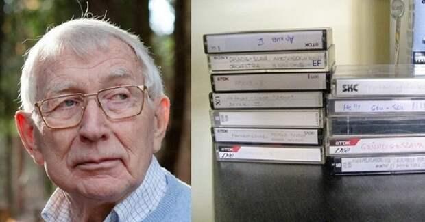 Ему мы обязаны появлением компакт-кассеты и CD: не стало изобретателя Лу Оттенса