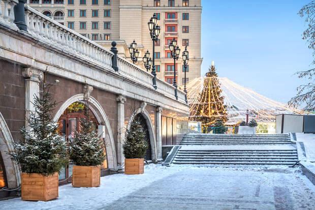 Синоптики рассказали о морозах в Москве на Рождество