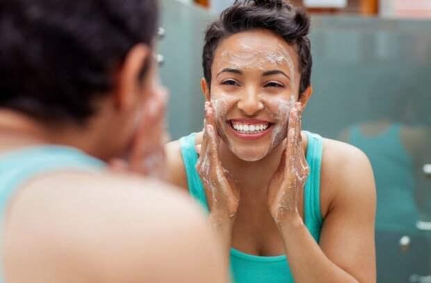 Подготовка к чистке лица